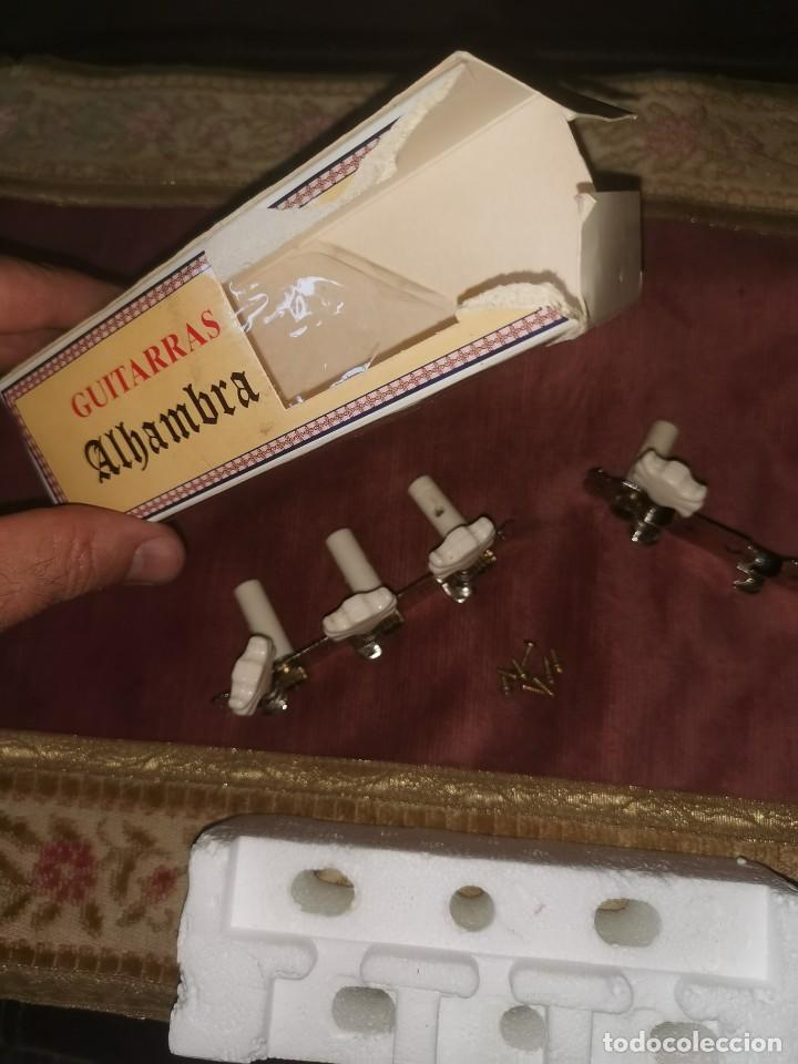 Instrumentos musicales: Juego de clavijas. Alhambra. Guitarra clásica - Foto 3 - 210585697