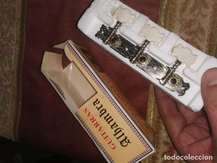 Instrumentos musicales: Juego de clavijas. Alhambra. Guitarra clásica - Foto 4 - 210585697