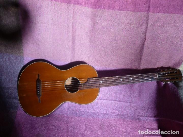 GUITARRA ROMÁNTICA ANTIGUA DE COLONIA (Música - Instrumentos Musicales - Guitarras Antiguas)