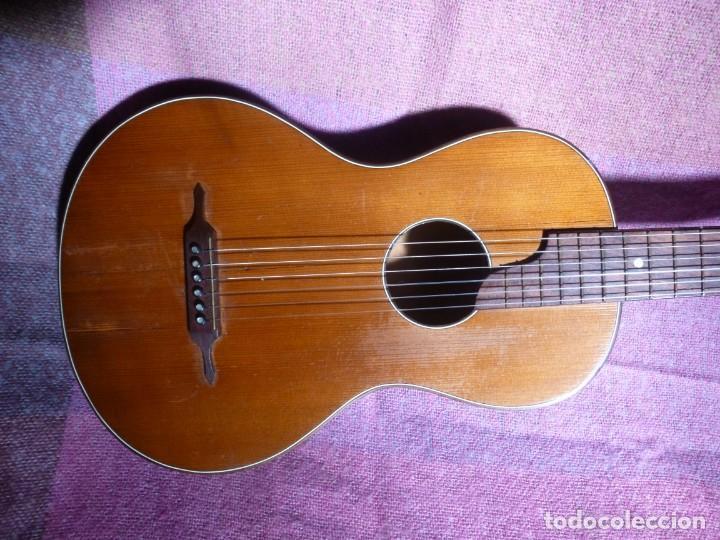 Instrumentos musicales: Guitarra romántica antigua de Colonia - Foto 2 - 210639662