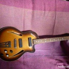 Instrumentos musicales: GUITARRA JAZZ ELÉCTRICA DEFIL. Lote 210640584