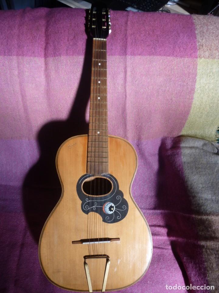 GUITARRA ROMÁNTICA MARIUS XIX-XX (Música - Instrumentos Musicales - Guitarras Antiguas)