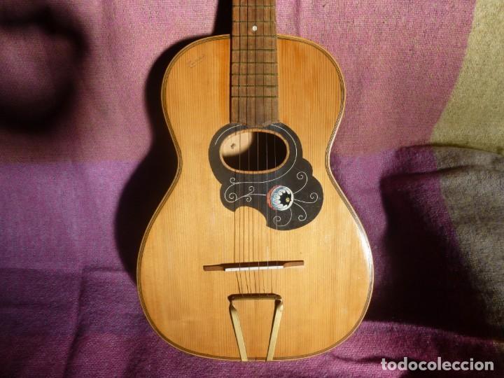 Instrumentos musicales: Guitarra romántica Marius XIX-XX - Foto 2 - 210645992