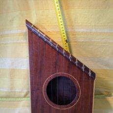 Instrumentos musicales: CAJA ARPA DE CAOBA. Lote 210659451
