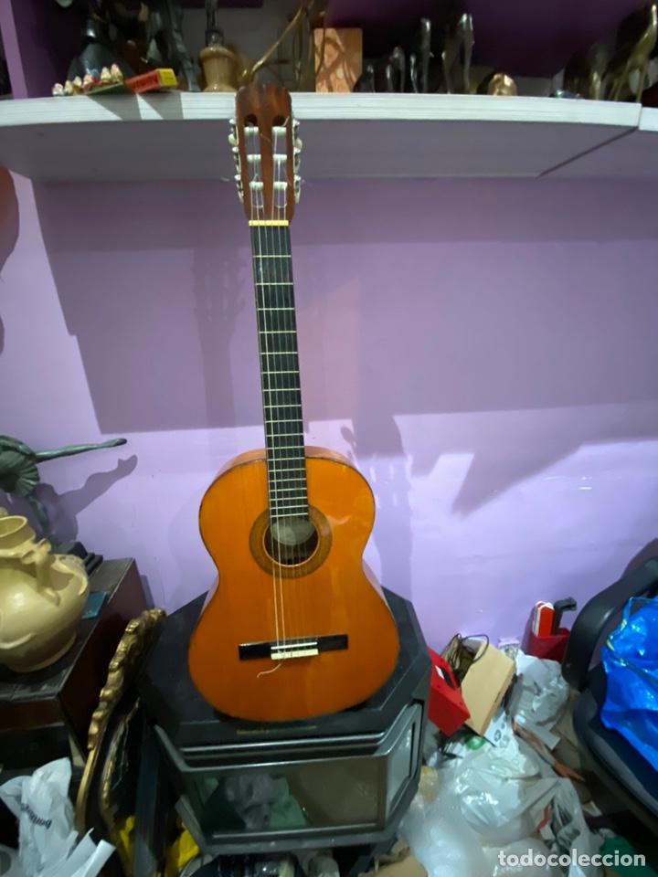 ANTIGUA GUITARRA ESPAÑOLA - VER LA MARCA EN FOTOS (Música - Instrumentos Musicales - Guitarras Antiguas)
