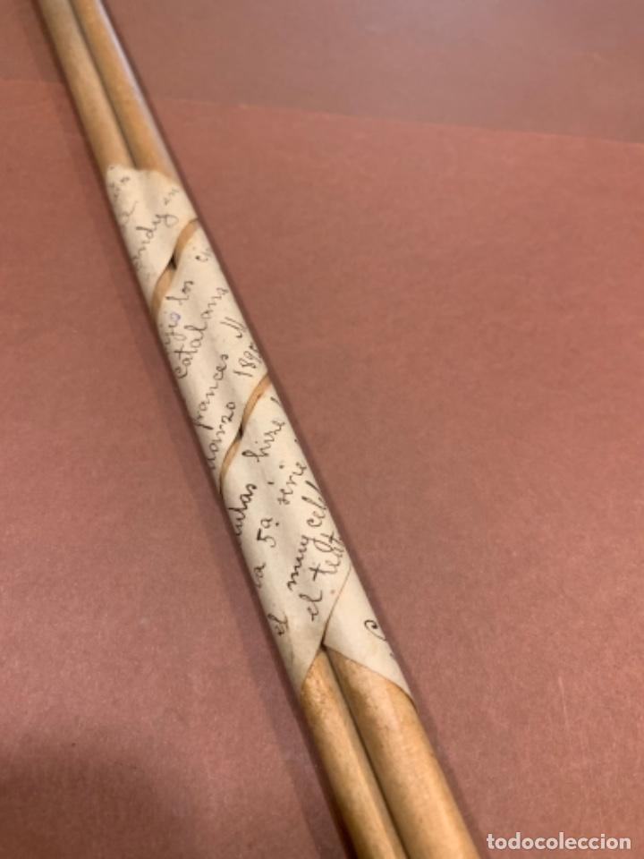 Instrumentos musicales: M. VINCENT DINDY JUEGO BATUTAS MADERA UTILIZADAS POR EL COMPOSITOR AÑO 1895 EN TEATRO LICEO (G) - Foto 16 - 210840029