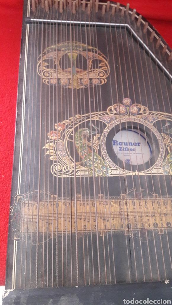 CITARA INSTRUMENTO DE CUERDA (Música - Instrumentos Musicales - Cuerda Antiguos)