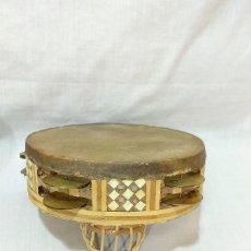 Instrumentos musicales: RESERVADA - PANDERETA DE EGIPTO CON DOBLE FILA DE PLATILLOS. Lote 210936794