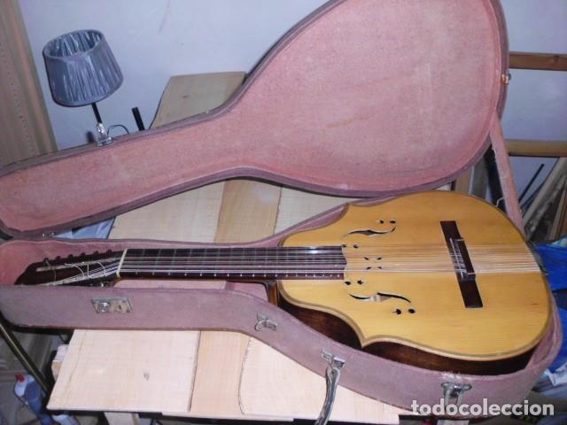 Instrumentos musicales: Laúd palosanto Telesforo Julve - Foto 2 - 222027237