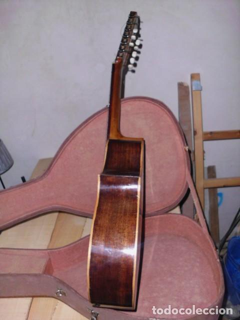 Instrumentos musicales: Laúd palosanto Telesforo Julve - Foto 5 - 222027237