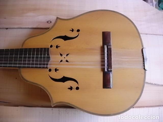 Instrumentos musicales: Laúd palosanto Telesforo Julve - Foto 12 - 222027237