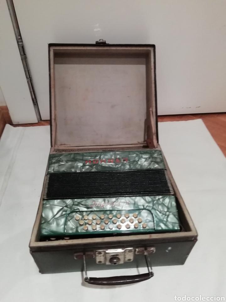 Instrumentos musicales: Acordeón Hohner Imperial II - Foto 2 - 211569610
