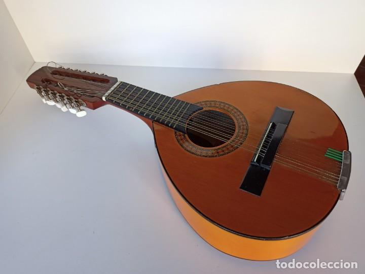 BANDURRIA ADMIRA Nº2, FABRICACIÓN ESPAÑOLA (Música - Instrumentos Musicales - Cuerda Antiguos)