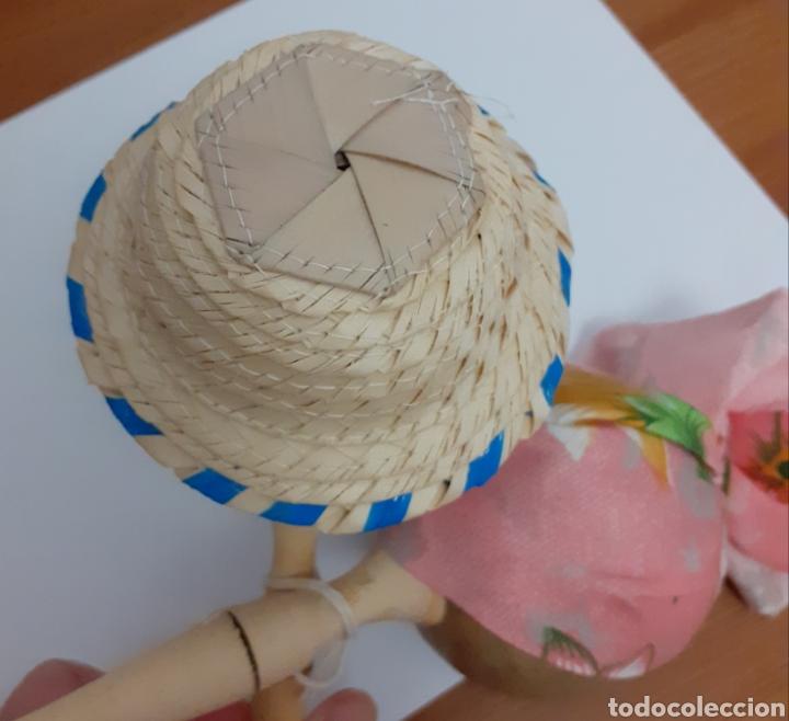Instrumentos musicales: Originales Maracas de Cuba pintadas y hechas a mano como muñecos con sombreros cubanos, Vintage. - Foto 8 - 211594946