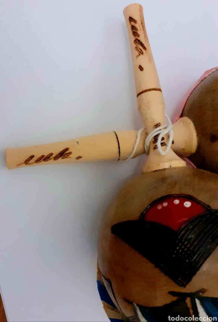 Instrumentos musicales: Originales Maracas de Cuba pintadas y hechas a mano como muñecos con sombreros cubanos, Vintage. - Foto 11 - 211594946