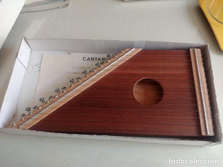 ANTIGUA CITARA O CANTARINA MIREN FOTOS (Música - Instrumentos Musicales - Cuerda Antiguos)