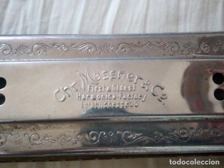 Instrumentos musicales: antigua armonica loreley extra tonvolle,VINTAGE CHRISTIAN MESSNER & CO,1930. - Foto 3 - 211705231
