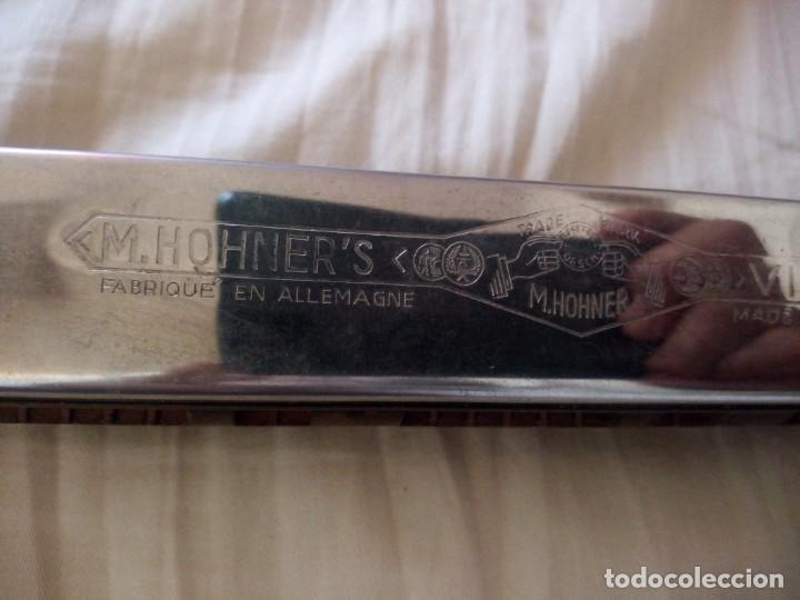Instrumentos musicales: armonica m.hohner germany model vineta nº 4 - Foto 2 - 243945365