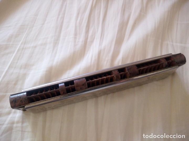 Instrumentos musicales: armonica m.hohner germany model vineta nº 4 - Foto 5 - 243945365