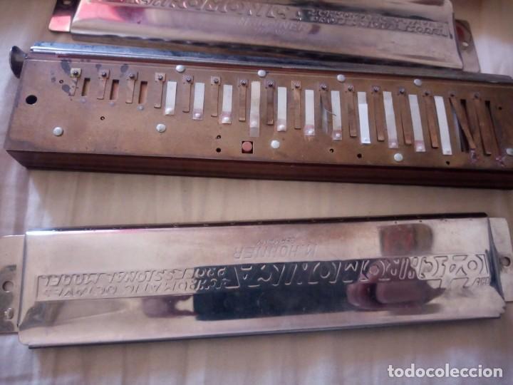 Instrumentos musicales: armonica the 64 chromonica 4 chromatic octaves professional model m.hohner germany,con estuche origi - Foto 5 - 211725571