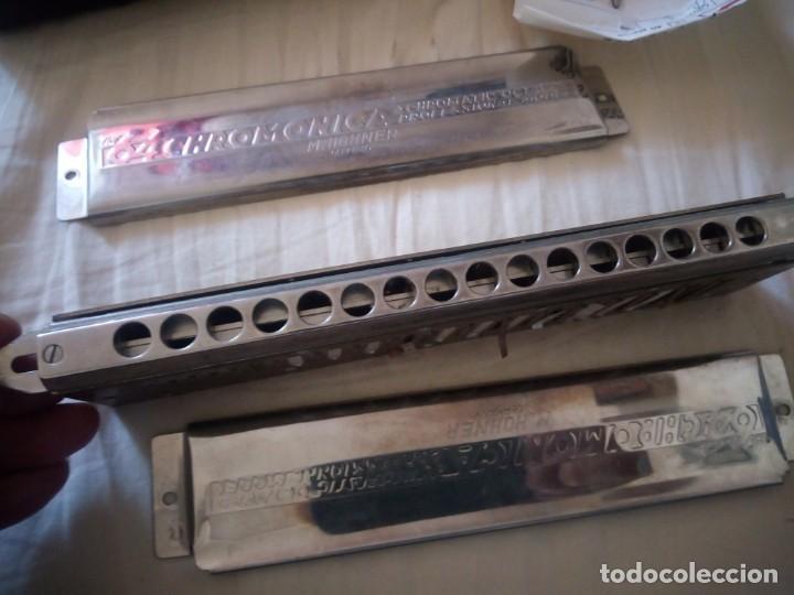 Instrumentos musicales: armonica the 64 chromonica 4 chromatic octaves professional model m.hohner germany,con estuche origi - Foto 11 - 211725571