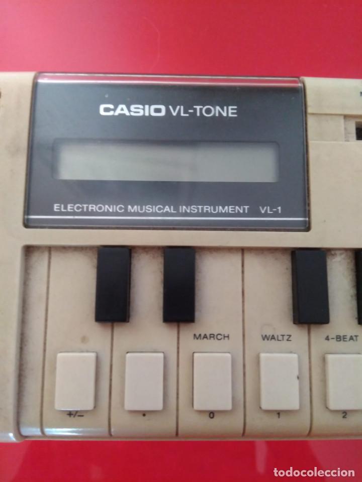 Instrumentos musicales: Órgano musical electrónico Casio vl-tone - Foto 3 - 211869982