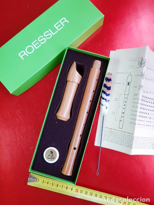 Instrumentos musicales: flauta-roessler-caja-nos-ver fotos - Foto 2 - 212033180