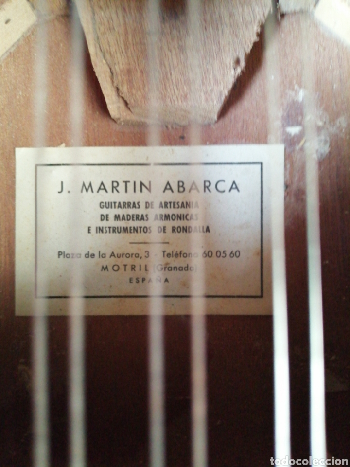 Instrumentos musicales: Guitarra artesana - Foto 12 - 212303248