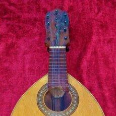 Instrumentos musicales: BANDURRIA. EN MADERA. ANÓNIMO. ESPAÑA. PRINCIPIOS SIGLO XX.. Lote 212966740