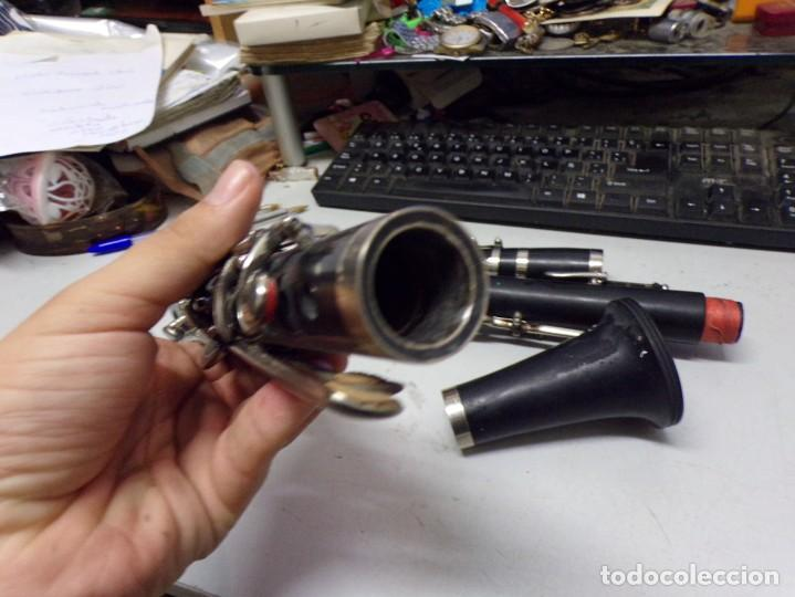 Instrumentos musicales: clarinete madera creo ebano usado - Foto 11 - 223738175