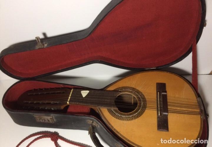 Instrumentos musicales: Antigua Bandurria Telesforo Julve - Foto 2 - 213494281