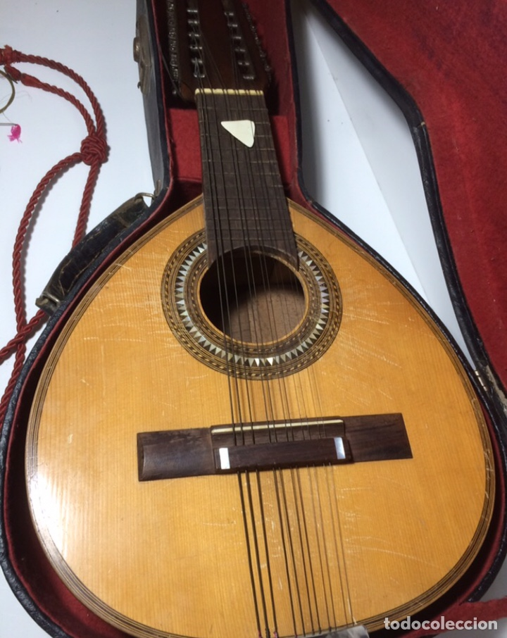 Instrumentos musicales: Antigua Bandurria Telesforo Julve - Foto 11 - 213494281