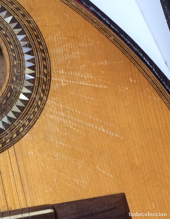 Instrumentos musicales: Antigua Bandurria Telesforo Julve - Foto 12 - 213494281