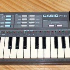 Instrumentos Musicais: ANTIGUO CASIO PT-87 - FUNCIONANDO - CASIOTONE - TECLADO - PT87 PT 87. Lote 213498115