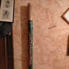 Instrumentos musicales: GRAN PALO DE LLUVIA. CAÑA DE BAMBÚ. INSTRUMENTO DE PERCUSIÓN SUDAMERICANO. ARTESANO PUEBLOS INDIGENA. Lote 213543705