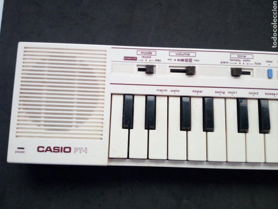 Instrumentos musicales: ANTIGUO TECLADO CASIO. PT-1. FUNCIONANDO PERFECTAMENTE - Foto 2 - 213623931