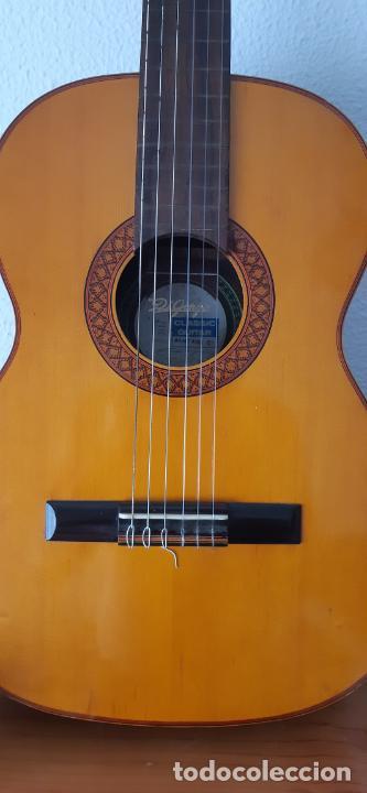 Instrumentos musicales: GUITARRA CRIOLLA DI GIORGIO, BRASIL 1979, MODELO SANTANA C1. SAO PAULO. - Foto 2 - 213642905