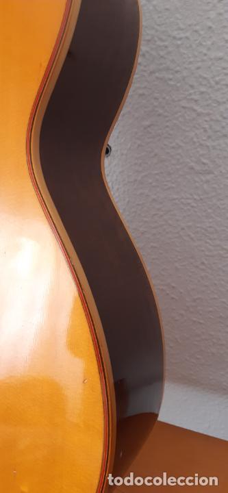 Instrumentos musicales: GUITARRA CRIOLLA DI GIORGIO, BRASIL 1979, MODELO SANTANA C1. SAO PAULO. - Foto 8 - 213642905