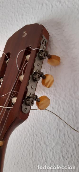 Instrumentos musicales: GUITARRA CRIOLLA DI GIORGIO, BRASIL 1979, MODELO SANTANA C1. SAO PAULO. - Foto 13 - 213642905
