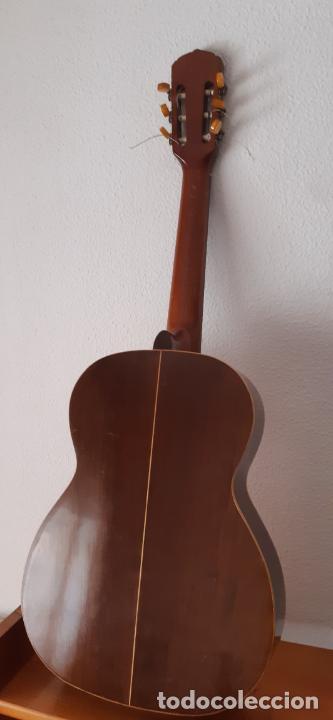 Instrumentos musicales: GUITARRA CRIOLLA DI GIORGIO, BRASIL 1979, MODELO SANTANA C1. SAO PAULO. - Foto 14 - 213642905