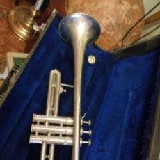 Instrumentos musicales: TROMPETA VINCENT BACH CORP 11EW CON ESTUCHE COMO SE VE EN LAS FOTOS. Lote 213763208