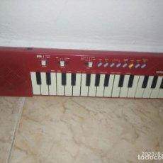Instrumentos musicales: PIANO ÓRGANO TECLADO CASIO PT 10 ROJO. Lote 213778058