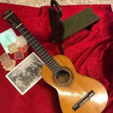 Instrumentos musicales: GUITARRA ESPAÑOLA HISTÓRICA JOSÉ PERNAS 1844. Lote 213871486