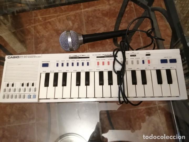 CASIO PT 20 CON MICRO (Música - Instrumentos Musicales - Teclados Eléctricos y Digitales)