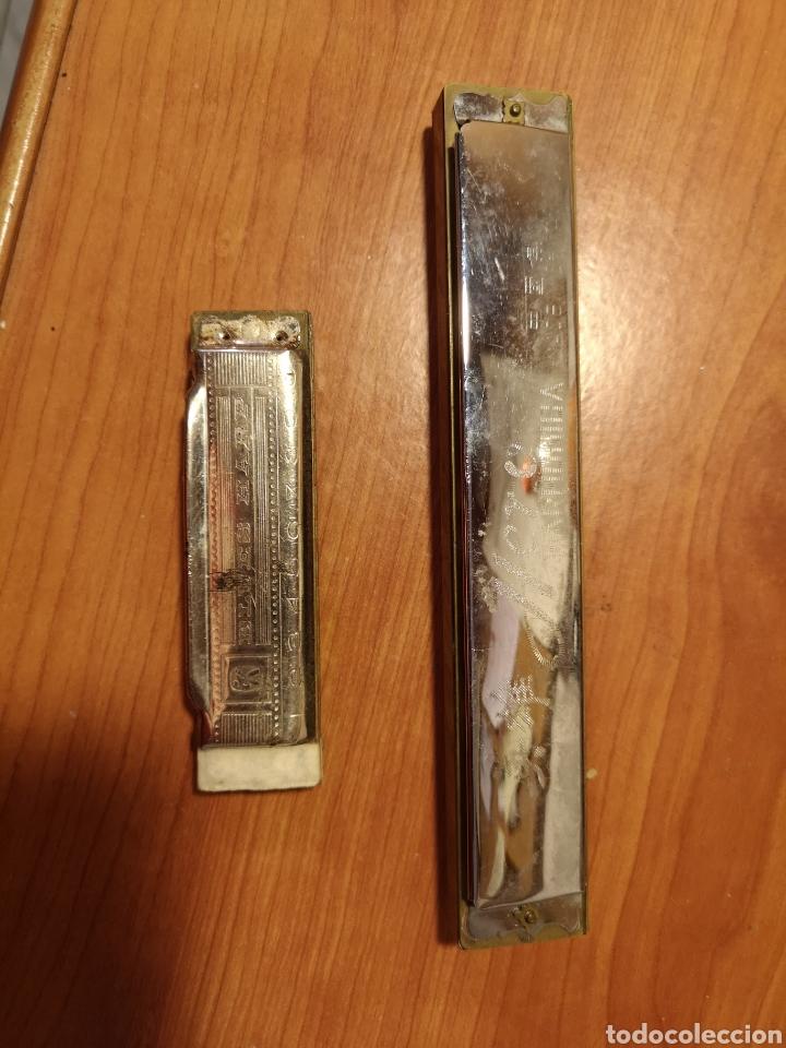 Instrumentos musicales: 2 armonicas HERO y M. HOHNER - Foto 3 - 214224196