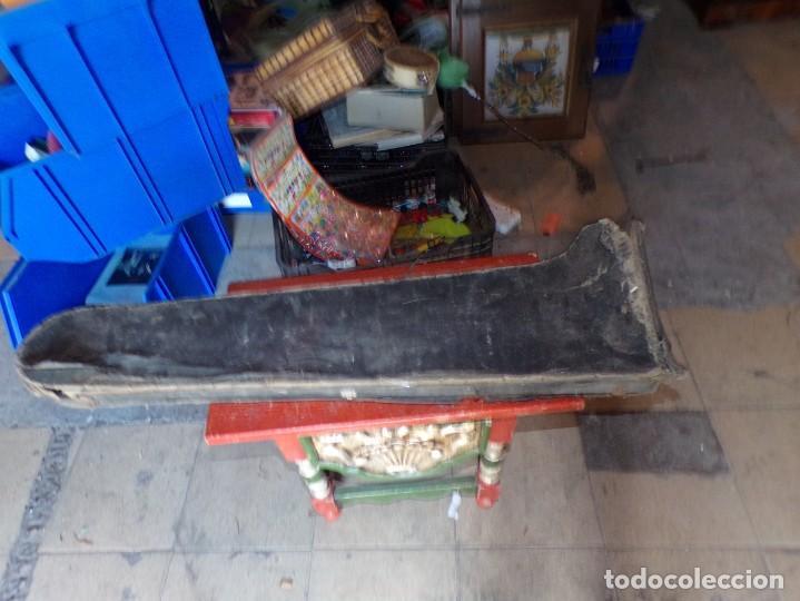 Instrumentos musicales: antiguo trombon de varas marcado lerida - Foto 8 - 214332958
