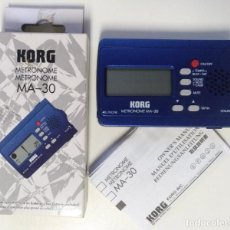 Instrumentos musicales: METRONOMO DIGITAL KORG MA-30 ( BATERÍA BAJO GUITARRA TECLADO PERCUSION DJ VIENTOS AFINADOR). Lote 214451637