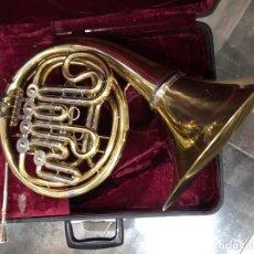 Instrumentos musicales: CONO FRANCES , TROMPA LARK. Lote 214577897