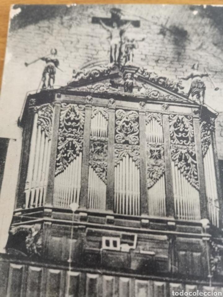 Instrumentos musicales: Postal de interior Iglesia Valreas, Órgano. - Foto 2 - 214887672