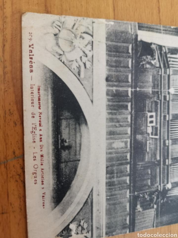Instrumentos musicales: Postal de interior Iglesia Valreas, Órgano. - Foto 3 - 214887672